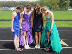 Prom 2013! Me and my friends run cross country and track so we decided to take pictures on our school's track! So much fun.