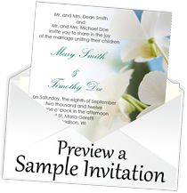 Email Wedding Invitations | Online Save the Dates | Electronic