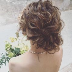 「bridal hair ・ ・ ・ #ウェディングドレス #プレ花嫁 #ブライダルヘア #updo #hairarrange  #hair」