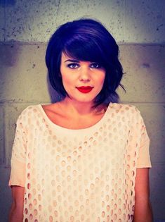 17 Marvelous Short Hairstyle for Oval Faces and Fine Hair Pictures