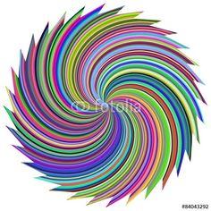 Vektor: Farbwirbel 01