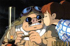 Porco Rosso & Fio: smooch!