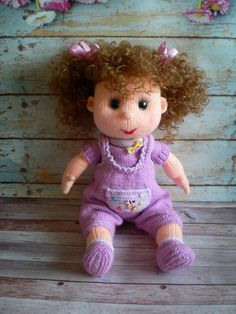 Amigurumi Toy Knitted Doll  Baby Shower Gift  Fashionable