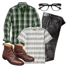 """L.L Bean"" by thiagoassoni ❤ liked on Polyvore featuring Carhartt, L.L.Bean, men's fashion and menswear"