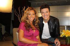 Beyoncé com Rodrigo Faro