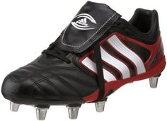 adidas Men's adiPURE Flanker Rugby Shoe,Black/Running « Impulse Clothes