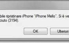 Come correggere l'errore 3194 di iTunes quando si aggiorna o ripristina iPhone e iPad #itunes #errore #iphone