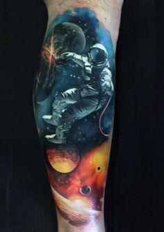 f937bb857 3D tattoos - 52 vivid and eye-catching ideas - TattoozZa Best Leg Tattoos,