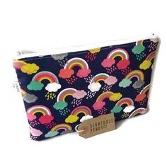 Rainbows Makeup Bag Pencil Case Cosmetic Bag large makeup