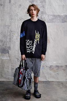 McQ Alexander McQueen Spring 2015 Menswear - Collection - Gallery - Look 1 - Style.com
