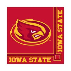 Descriptions Iowa State Univ 2 Ply Beverage Napkins - Design : Iowa State University - Material : Paper - Capacity : 2 PLY Features - Iowa State Univ - Beverage Napkin Ships within 4 Business Days