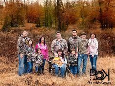 Camo Fall Family Shoot