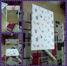 Kizimin yipranmis sandalyesini yeniledim #kendinyap#degerlendir