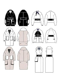 Fashion Sketchbook - fashion design drawings; graduate fashion portfolio // Andrew Voss