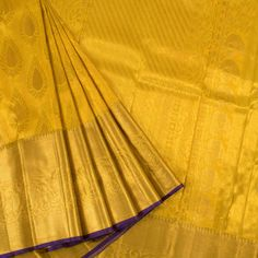 Buy Online Saris Hamsadhvani Vivaaha Collection - Handloom Pure Zari Bridal Kanjivaram Tissue Silk Saree With Paisley Motifs 10023272 - closeup - AVISHYA. Bridal Silk Saree, Organza Saree, Saree Wedding, Silk Saree Kanchipuram, Kanjivaram Sarees, Silk Sarees Online Shopping, Saree Shopping, Silk Sarees With Price, Silk Saree Blouse Designs
