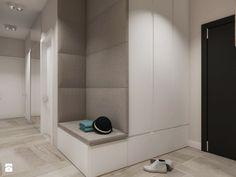 Mieszkanie nowoczesne z betonem - Duży hol / przedpokój, styl nowoczesny - zdjęcie od SO INTERIORS Architektura Wnętrz