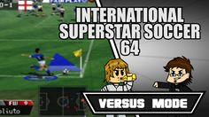 TEAM SO SWEATY - International Superstar Soccer 64 - Versus Mode Funny M...