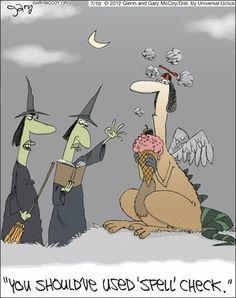 Witches.... time to conjure a laptop...