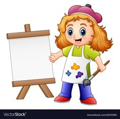 Cartoon Kids Hobbies Vector Images (over Funny Cartoon Characters, Cartoon Icons, Cartoon Memes, Cartoon Styles, Cartoon Drawings, Little Girl Cartoon, Cartoon Kids, Cartoon Art, Cute Cartoon