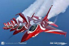 "Republic of Singapore Air Force ""Black Knights"" Lockheed-Martin F-16C Block 52+ Fighting Falcons"