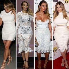 Kim, all white everythaaang