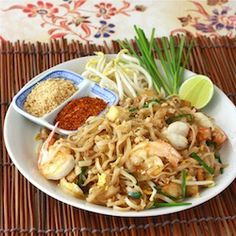 Pad Thai - A Fusion of Thai and Chinese Cuisines