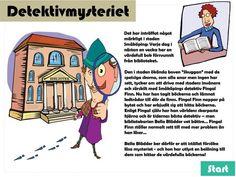 """Skattjakt: Detektivmysteriet 7-10 årI  Småköping härjar den ökända boven """"Skuggan"""" och där händer mystiska  saker - värdefulla böcker försvinner från biblioteket. Stadens klantiga  detektiv Fingal Finn antar utmaningen att hitta böckerna, men  bibliotekarien Bella Blädder vet bättre och ber istället barnen hjälpa  till - och hon utlyser en belöning till dem som kan hitta de försvunna  böckerna!"""