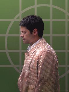 Castiel in a pretty jacket by euclase