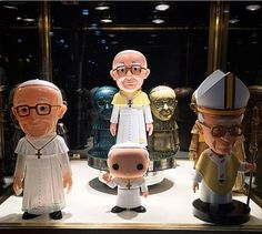 A Funko Glimpse into Toy Fair 2015. Pope Funko the First! Too funny to not add to your Funko collection.  - Visit http://popvinyl.net/pop-vinyl-news/funko-glimpse-toy-fair-2015/