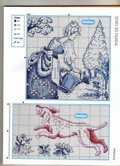 Gallery.ru / Фото #56 - 144 - geminiana Cross Stitch Sampler Patterns, Cross Stitch Samplers, Cross Stitch Charts, Cross Stitch Designs, Cross Stitching, Cross Stitch Embroidery, Embroidery Patterns, Delft, Blackwork