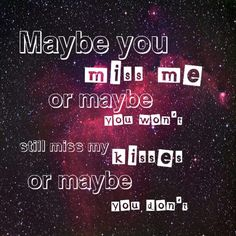 Lyric quote from I'm ok by Olly Murs from the In Case You Didn't Know album.