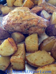 21 Day Fix Recipe Rosemary Chicken and Potatoes