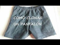 DIY Pantalón short sencillo | Katirya Rodriguez - YouTube Diy Pantalones Cortos, Short Niña, Creation Couture, Toddler Girl Outfits, Sewing Crafts, Creations, Youtube, Ideas Para, Vintage