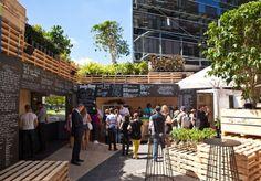 Pop Up Coffee Shop Urban Brew