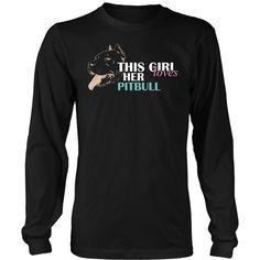 Pitbull T-shirt, hoodie and tank top. Pitbull funny gift idea.