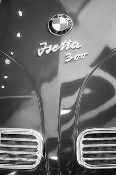 1957 Bmw Isetta Emblem Photograph by Jill Reger - 1957 Bmw Isetta Emblem Fine Art Prints and Posters for Sale