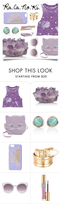 """I See The Stars In Your Eyes"" by racanoki ❤ liked on Polyvore featuring McCoy Design, Patricia Chang, Monica Vinader, Kate Spade, Alexander McQueen, Quay, Yves Saint Laurent, NARS Cosmetics and RaCaNoKi"