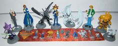 Yugioh  Party Favors Set of 9 Figures with Yami Yugi, Dragons, Exodia and More! #Tomy #BirthdayChild