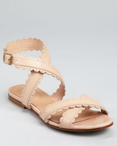 See by Chloe - a nude, sandal-y take on Mary Janes