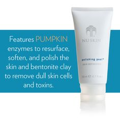 Polishing Peel Skin Refinisher delivers skin-smoothing results equivalent to a professional microdermabrasion session without ever leaving home. An alternative to professional treatments Polishing Anti Aging Tips, Anti Aging Skin Care, Polishing Peel Nuskin, Organic Skin Care, Natural Skin Care, Chemical Skin Peel, Chemisches Peeling, Skin Care Clinic, Dull Skin