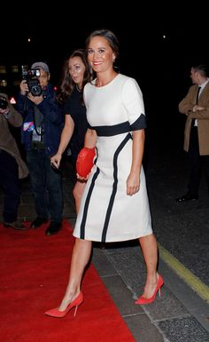 11 February 2016 - Pippa attends the British Heart Foundation's Roll Out the Red Ball