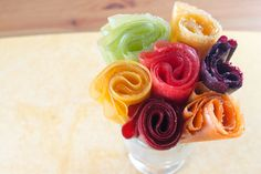 homemade fruit roll-ups *dehydrator required