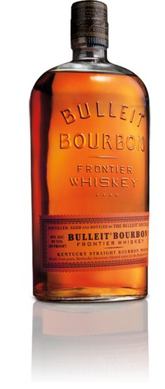 Bulleit Bourbon Frontier Whiskey has a higher rye content than other bourbons. Tasted at the Landing Zone on Fort Rucker. Very good.