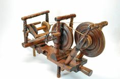 RARE Antique Continental Double Spinning Wheel |no longer available on EBay
