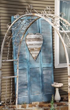 """""""love the shutters ♥ Bridal Showers, Baby Showers, Shutter Decor, Bridal Luncheon, Overland Park, Queen Bees, Intimate Weddings, Rehearsal Dinners, Shutters"""
