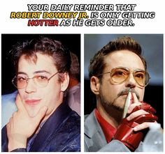 Robert Downey Jr.  @Makayla Millington, This isn't the one I was talking about but its like it!