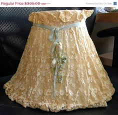 Valentines 25 Off SALE Frilly and so SHABBY Original by RuinsCa, $228.75
