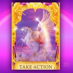 Have you been waking up with lots of ideas, Dear One? Because this card comes up whenever an idea needs action steps, to put it into motion and reality.  The message for you today is that it's safe - and necessary - for you to take action upon your ideas and intuition. The angels are urging you to feel confident that all of the help and support that you need will be given to you along the way . . . but you need to take the first step.  The ego tries to get us to procrastinate, saying that…