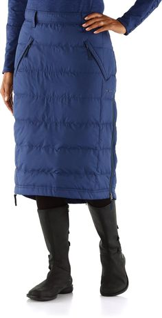 Great for cold weather days. Skhoop Mid Down Skirt.