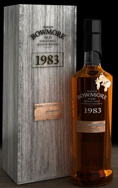 Bowmore,1983,  Islay Single Malt whisky, in a new packaging.